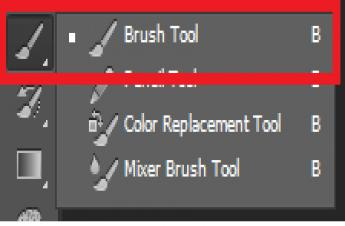 Hướng dẫn sử dụng công cụ Brush tool trong Photoshop