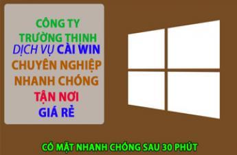 CTy Dịch Vụ Cài Win Laptop Acer Tận Nơi Tại Bình Thạnh Giá Rẻ