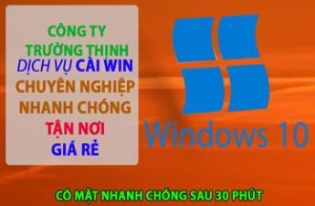 CTy Dịch Vụ Cài Win Laptop Asus Tận Nơi Tại Bình Thạnh Giá Rẻ