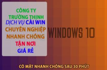 Công Ty Dịch Vụ Cài Win Laptop Asus Tại Quận Phú Nhuận Giá Rẻ ✅
