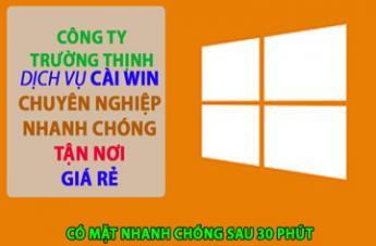 Công Ty Dịch Vụ Cài Win Laptop Acer Tại Quận Phú Nhuận Giá Rẻ ✅