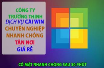 Công Ty Dịch Vụ Cài Win Laptop Acer Tại Quận Tân Bình Giá Rẻ ✅
