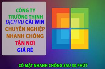 CTy Dịch Vụ Cài Win Laptop Acer Tận Nơi Tại Bình Tân Giá Rẻ ✅