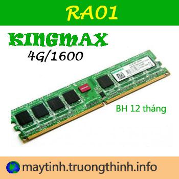 Nâng Cấp Ram 4G KingMax Uy Tín Giá Rẻ Tận Nơi Tại HCM